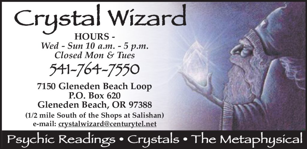 Crystal Wizard in Gleneden Beach, Oregon